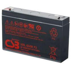 Akumulator AGM CSB HRL 634 W F2 (6V 9Ah)