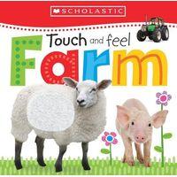 Książki dla dzieci, Touch and Feel Farm (dotykowa)