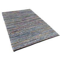 Dywany, Dywan - niebieski - 140x200 cm - bawełna - handmade - ALANYA