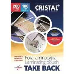 Folia laminacyjna ARGO A4 2x100mic. Take Back połysk