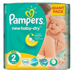 PIELUCHY PAMPERS GIANT A100 MINI 2 3-6