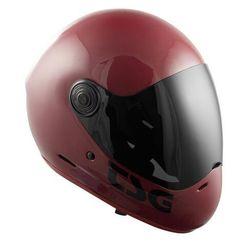 kask TSG - pass solid color (+ bonus visor) gloss oxblood (262) rozmiar: XL
