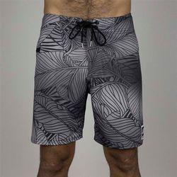 strój kąpielowy HYDROPONIC - 18in Banana Leaf Black-Grey (BLACK-GREY ) rozmiar: 34
