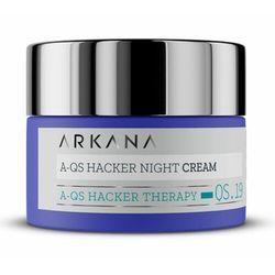 Arkana A-QS HACKER NIGHT CREAM Krem na noc regulujący mikrobiom skóry (61019)