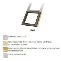 Okno dachowe FAKRO FXP P5 94x88 antywłamaniowe 3-szybowe nieotwierane