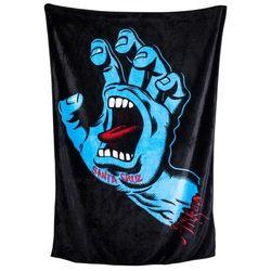 koc SANTA CRUZ - Screaming Hand Blanket Black (BLACK)