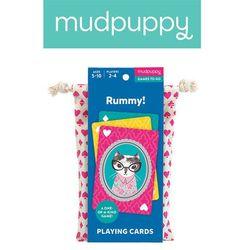Mudpuppy Gra karciana Remik! w podróżnym opakowaniu 5+