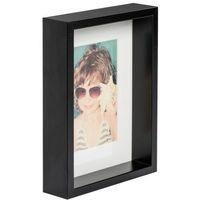 Ramki na zdjęcia, Ramka na zdjęcia Box A5 15 x 21 cm czarna