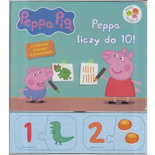 Pozostałe zabawki edukacyjne, Świnka Peppa. Peppa liczy do 10! - Praca zbiorowa