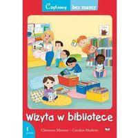 Książki dla dzieci, Wizyta w bibliotece 1 etap czytania - Clemence Masteau (opr. miękka)