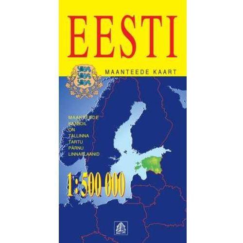 Mapy i atlasy turystyczne, Estonia mapa 1:500 000 Jana Seta (opr. twarda)