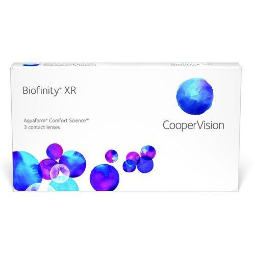 Soczewki kontaktowe, Biofinity XR, 3 szt.