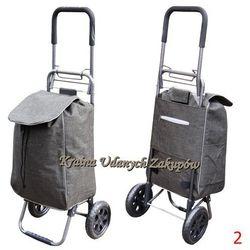 Wózek na Zakupy torba na kółkach SKŁADANY stelaż