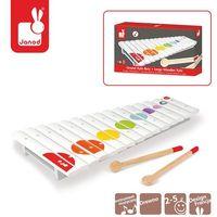 Instrumenty dla dzieci, Janod - Cymbałki 15 tonów drewniane Confetti