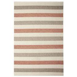 Dywan w pasy ALANIS beżowo-miedziany 160 x 220 cm