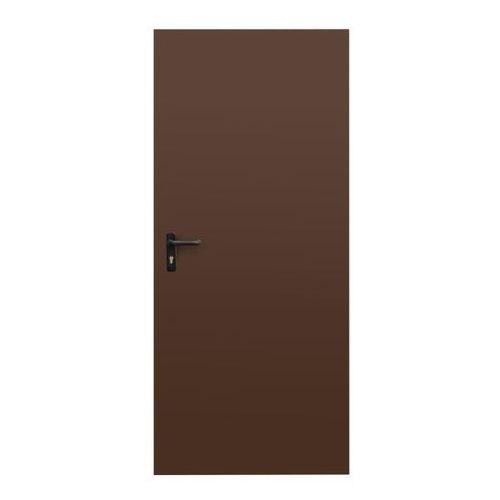 Drzwi zewnętrzne, Drzwi uniwersalne Uran 80 brąz