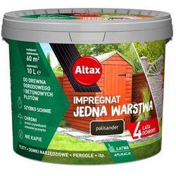 Impregnat Altax Jedna Warstwa drewno/beton palisander 10 l