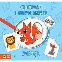 Kolorowanki, Zwierzęta Kolorowanki Z Grubym Obrysem - Agnieszka Matz