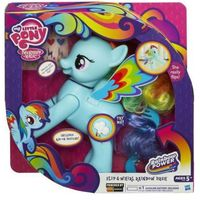 Figurki i postacie, My little Pony Skacząca Rainbow Dash A5905 wersja wegierska