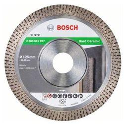 Tarcza diamentowa BOSCH Best for Hard Ceramic 125 x 22.23mm (2608615077) + DARMOWY TRANSPORT!