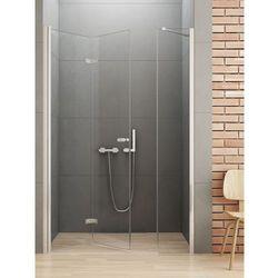 New Trendy Gold Drzwi prysznicowe NEW SOLEO 110, lewe, wys. 195 cm, szkło czyste 6mm D-0148A/D-0094B