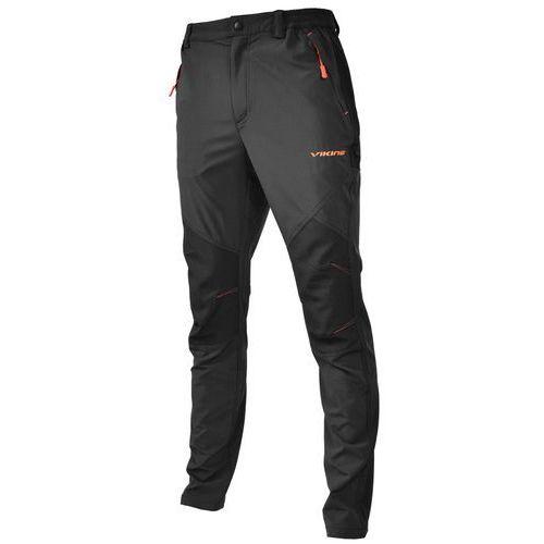 Spodnie męskie, SPODNIE TREKKINGOWE VIKING ALASKA MAN CZARNY/POMARAŃCZOWY 900/19/1612/54 L