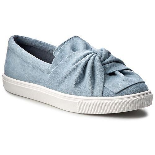 Półbuty damskie, Półbuty STEVE MADDEN - Knotty Slip-on 91000357-0S0-10003-04001 Blue