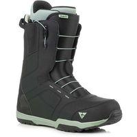 Buty do snowboardu, buty GRAVITY - Recon Fast Lace Black (BLACK) rozmiar: 45.5