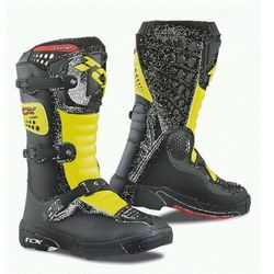 TCX BUTY COMP-KID BLACK/YELLOW FLUO