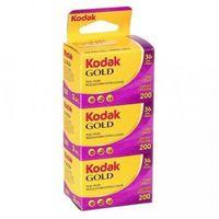Klisze fotograficzne, Kodak Gold 200/36 x 3 negatyw kolorowy typ 135