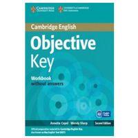Książki do nauki języka, Cambridge English Objective Key. Ćwiczenia bez Klucza (opr. miękka)