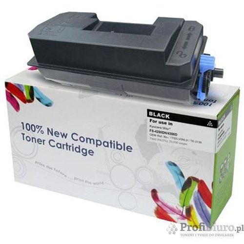 Tonery i bębny, Toner CW-K3130N Czarny do drukarek Kyocera (Zamiennik Kyocera TK-3130) [25k]