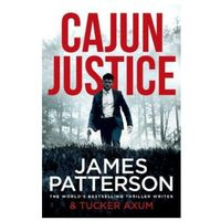 Książki do nauki języka, Cajun Justice - Patterson James - książka (opr. miękka)