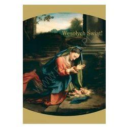 Karnet z kopertą Boże Narodzenie - Wesołych Świąt