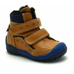 Buty zimowe dla chłopca Kornecki 06587 Camel - Brązowy