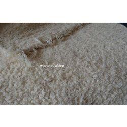 Chodnik bawełniany ręcznie tkany ecru 65x150 cm