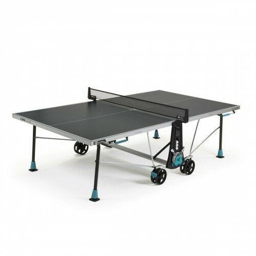 Tenis stołowy, CORNILLEAU STÓŁ TENISOWY 300X DELTA OUTDOOR SZARY