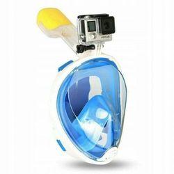 Maska do Nurkowania Pełnotwarzowa L\XL - Niebieska