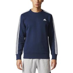 adidas Performance ESSENTIALS CREW Bluza collegiate navy/white