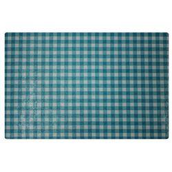 Podkładka na stół 44 x 28 5 cm kratka niebieska