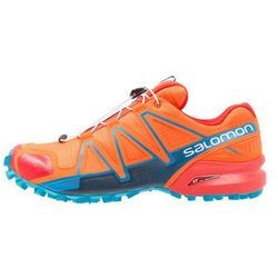Salomon SPEEDCROSS 4 Obuwie do biegania Szlak scarlet ibis/hawaiian surf/fiery red