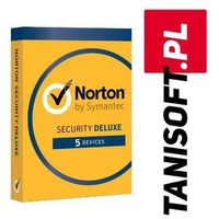 Oprogramowanie antywirusowe, Norton Security 5 urządzeń / 1 rok Polska wersja językowa! / szybka wysyłka na e-mail / Faktura VAT / 32-64BIT / WYPRZEDAŻ