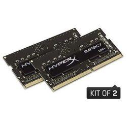 KINGSTON 32GB 2400MHz DDR4 CL14 SODIMM Kit of 2 HyperX Impact