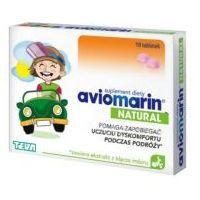 Leki na chorobę lokomocyjną, Aviomarin Natural x 10 tabletek