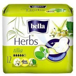 Podpaski Bella Herbs z kwiatem lipy - opak. 12 szt. wyprzedaż