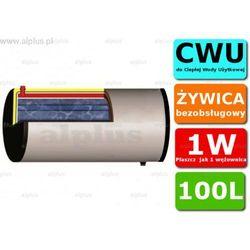 ERMET 100l skay dwupłaszczowy poziomy bojler do CWU - podgrzewacz wymiennik bezobsługowy - WYSYŁKA GRATIS