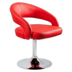 Fotel obrotowy UNIQUE STILO Czerwony - ZŁAP RABAT: KOD40