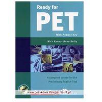 Książki do nauki języka, Ready for PET Coursebook + Cd (opr. miękka)