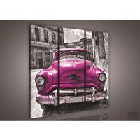 Obrazy, Obraz Różowy samochód PS503S6