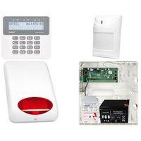 Zestawy alarmowe, ZESTAW ALARMOWY: Płyta główna Perfecta 16 WRL + Manipulator PRF-LCD + 1x Czujnik ruchu + Akcesoria